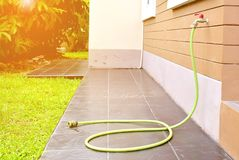 Rubber tube and hose Royalty Free Stock Images
