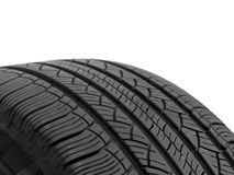 Rubber Tyre Royalty Free Stock Image