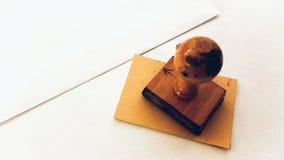Rubber zegel Royalty-vrije Stock Foto
