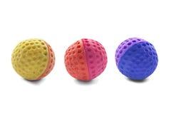 Rubberballen Royalty-vrije Stock Afbeelding