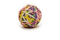 球rubberband 库存照片