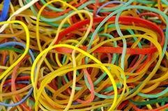 背景rubberband 免版税库存照片