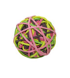 Rubberband Ball. Which keeps supplies easily at hand with bright colors - path included Stock Photos
