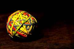 Rubberband Ball Stock Photography