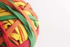 Rubberband-Ball Stockfotografie