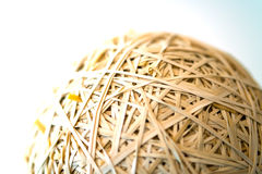 Rubberband Ball Close Up Stock Photos
