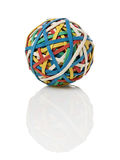 Rubberband ball Stock Images