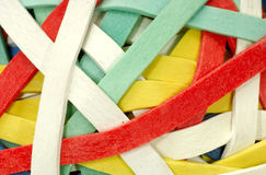 Rubberbands Royalty Free Stock Photos