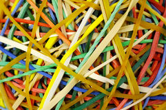 Rubberbands Royalty Free Stock Photography
