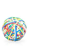 Rubberbands Ball Stock Photography