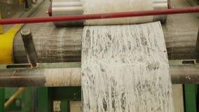 Rubberproductielijn rubber chemische productie stock videobeelden