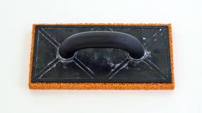 Rubberspons om pleister te vertroebelen Stock Fotografie
