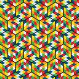 Rubbick-Muster-Vektor Lizenzfreie Stockfotografie