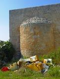 Rubbish and abandoned hazardous waste Royalty Free Stock Images
