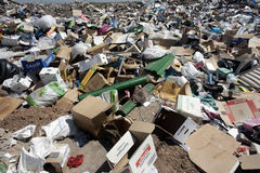 Rubbish, Aragon, Spain Stock Photos