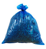 Rubbish bag. Isolated Stock Photos
