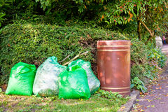 Rubbish bags Royalty Free Stock Photos