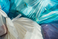 Rubbish bags Stock Images