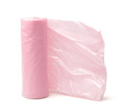 Rubbish bags roll Royalty Free Stock Photos