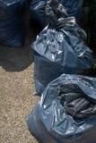 Rubbish Beutel stockfoto