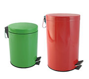 Rubbish bin Stock Images