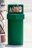 Rubbish bin Stock Photography