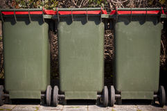 Rubbish Bins Royalty Free Stock Photo