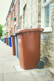 Rubbish bins Royalty Free Stock Photos
