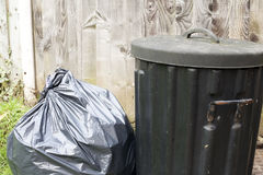 Rubbish for collection Stock Images