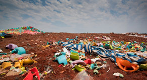Rubbish dump Stock Photo