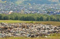 Rubbish dump Stock Photos