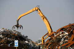 Rubbish dump Stock Photos