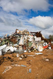 Rubbish dump portrait Royalty Free Stock Photos