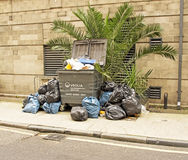 Rubbish in London Stock Photos