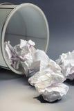 Rubbish paper Stock Image