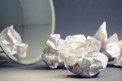 Rubbish paper Royalty Free Stock Image
