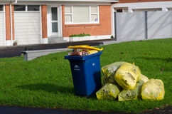 Rubbish and recycling Royalty Free Stock Photography