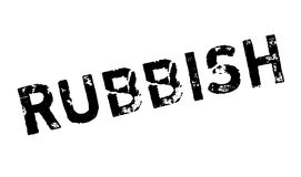 Rubbish rubber stamp Stock Photography