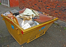 Rubbish skip Royalty Free Stock Images