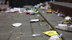 Rubbish on the streets