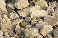 Rubble Royalty Free Stock Photo