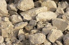 Rubble. Concrete rubble Royalty Free Stock Photo