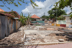 Rubble area Royalty Free Stock Photography
