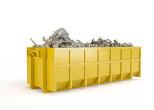 Rubble container Stock Images