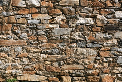 Rubble Rock Wall Royalty Free Stock Image