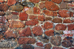 Rubble wall Stock Image