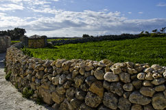 Rubble wall Stock Images