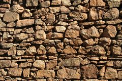 Rubbly Wall Stock Photos