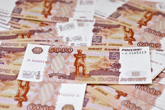 5000 rubel Royaltyfri Bild