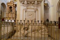 Ruben dario tomb in Nicaragua Royalty Free Stock Photo